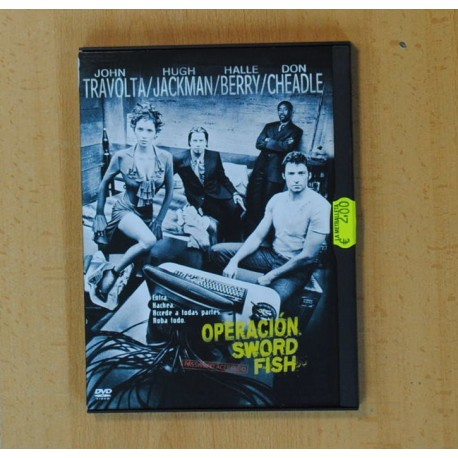 OPERACION SWORDFISH - DVD