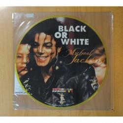 MICHAEL JACKSON - BLACK OR WHITE - PICTURE - LP