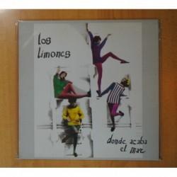 LOS LIMONES - DONDE ACABA EL MAR - LP