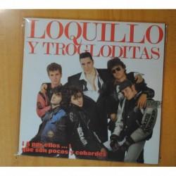 LOQUILLO Y TROGLODITAS - ¡A POR ELLOS...! QUE SON POCOS Y COBARDES + LIBRETO - 2 LP