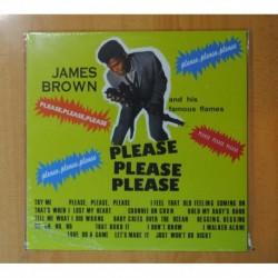 JAMES BROWN AND HIS FAMOUS FLAMES - PLEASE PLEASE PLEASE - LP