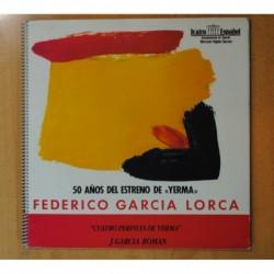 FEDERICO GARCIA LORCA - CUATRO PERFILES DE YERMA - LP
