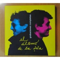 EL ULTIMO DE LA FILA - GRABACIONES COMPLICES + LIBRETO + DVD + BOX 6 CD - LP