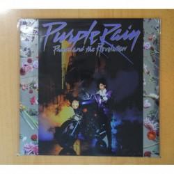 PRINCE AND THE REVOLUTION - PURPLE RAIN - CONTIENE POSTER - LP
