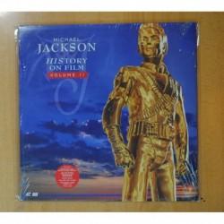 MICHAEL JACKSON - HISTORY ON FILM VOLUME II - LASERDISC