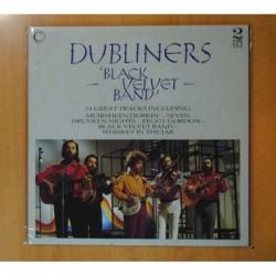 DUBLINERS - BLACK VELVET BAND - GATEFOLD - 2 LP