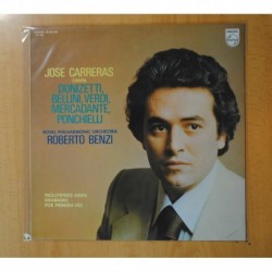 JOSE CARRERAS - JOSE CARRERAS CANTA DONIZETTI BELLINI VERDI... - LP