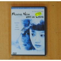 MIENTRAS NIEVA SOBRE LOS CEDROS - DVD