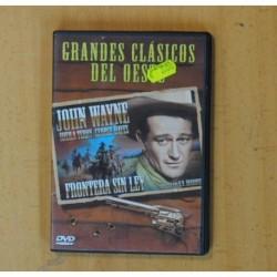 FRONTERA SIN LEY - DVD