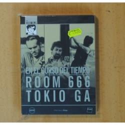 EN EL CURSO DEL TIEMPO / ROOM 666 / TOKIO GA - 3 DVD