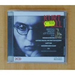 KURT WEILL - BERTOLD BRECHT LOTTE LENYA - 2 CD