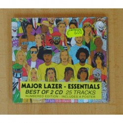MAJOR LAZER - ESSENTIALS - 2 CD