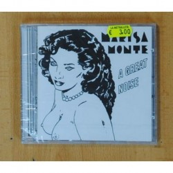 MARISA MONTE - A GREAT NOISE - CD