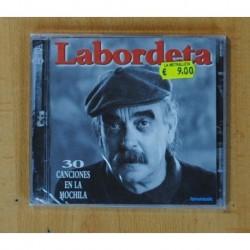 LABORDETA - 30 CANCIONES EN LA MOCHILA - 2 CD