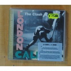 THE CLASH - LONDON CALLING + DVD - 2 CD