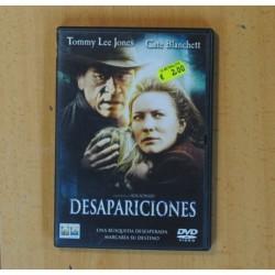 DESAPARICIONES - DVD