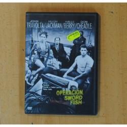 OPERACION SWORD FISH - DVD