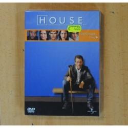 HOUSE TEMPORADA UNO - 2 DVD