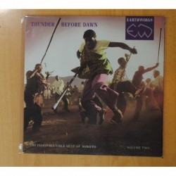 VARIOS - THUNDER BEFORE DAWN / THE INDESTRUCTIBLE BEAT OF SOWETO VOLUME TWO - LP