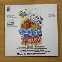 VARIOS - EL DILUVIO QUE VIENE - GATEFOLD - 2 LP