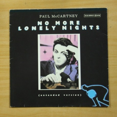 PAUL MCCARTNEY - NO MORE LONELY NIGHTS - MAXI