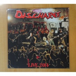 DISCHARGE - LIVE 2014 - LP