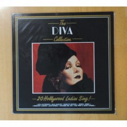 VARIOS - THE DIVA COLLECTION 20 HOLLYWOOD LADIES SING - LP