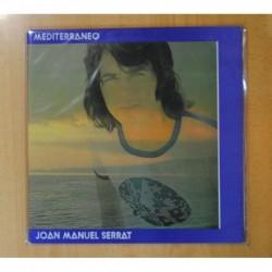 JOAN MANUEL SERRAT - MEDITERRANEO - LP