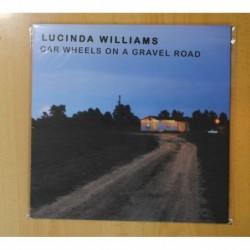 LUCINDA WILLIAMS - CAR WHEELS ON A GRAVEL ROAD - LP