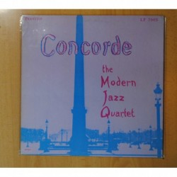 THE MODERN JAZZ QUARTET - CONCORDE - LP