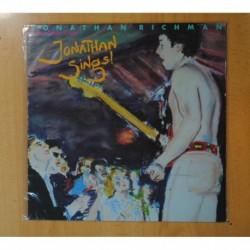 JONATHAN RICHMAN - JONATHAN SINGS ! - LP