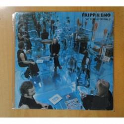 ROBERT FRIPP & BRIAN ENO - FRIPP & ENO NO PUSSY FOOTING - LP