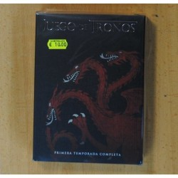 JUEGO DE TRONOS PRIMERA TEMPORADA - DVD