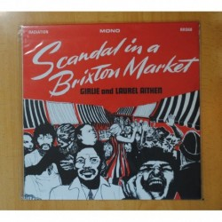GIRLIE / LAUREL AITKEN - SCANDAL IN A BRIXTON MARKET - LP