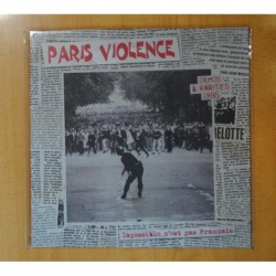 PARIS VIOLENCE - DEMOS & RARITIES 1995 IMPOSSIBLE N´EST PAS FRANCAIS - LP