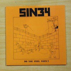 SIN34 - DO YOU FEEL SAFE - LP