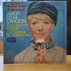 PETULA CLARL - AMOR ES MI CANCION - BSO LA CONDESA DE HONG KONG - SINGLE