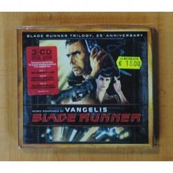 VANGELIS - BLADE RUNNER TRILOGY - BSO - 3 CD