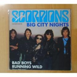 SCORPIONS - BIG CITY NIGHTS / BAD BOYS RUNNING WILD - MAXI