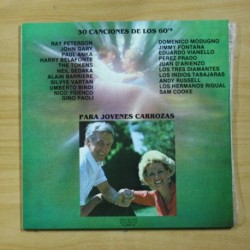 VARIOS - 30 CANCIONES DE LOS 60 PARA JOVENES CARROZAS - GATEFOLD - 2 LP