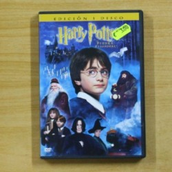 HARRY POTTER Y LA PIEDRA FILOSOFAL - DVD