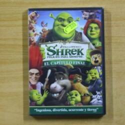 SHREK FELICES PARA SIEMPRE CAPITULO FINAL - DVD