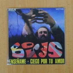 BORYS - ENSEÑAME / CIEGO POR TU AMOR - SINGLE