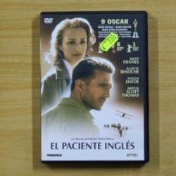 EL PACIENTE INGLES - DVD