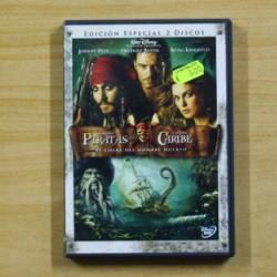 PIRATAS DEL CARIBE EL COFRE DEL HOMBRE MUERTO - DVD