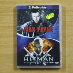 MAX PAYNE / HITMAN - DVD