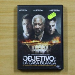 OBJETIVO LA CASA BLANCA - DVD