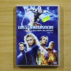LOS 4 FANTASTICOS Y SILVER SURFER - DVD