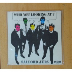 SALFORD JETS - WHO YOU LOOKING AT? / DON´T START TROUBLE - SINGLE