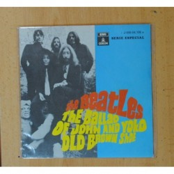 THE BEATLES - THE BALLAD OF JOHN AND YOKO / OLD BROWN SHOE - SINGLE